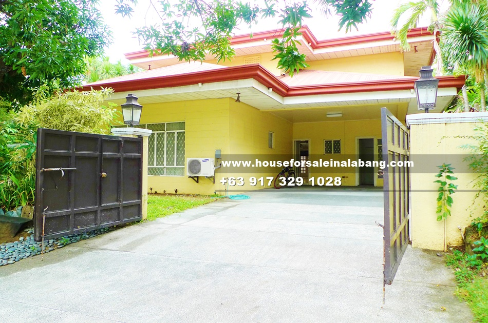 House and Lot for Sale in Ayala Alabang Philippines