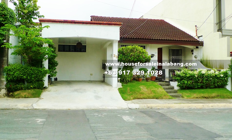 RFO House and Lot for Sale in Alabang Philippines