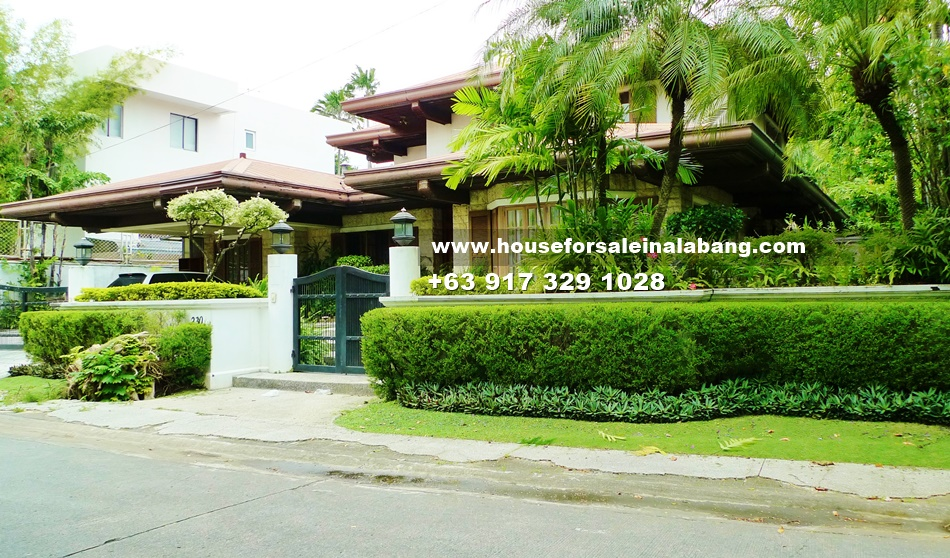 RFO House and Lot for Sale in Ayala Alabang Philippines