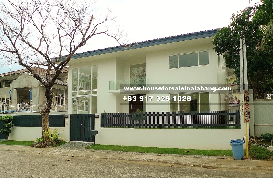 House and Lot for Sale in Ayala Alabang Muntinlupa Philippines