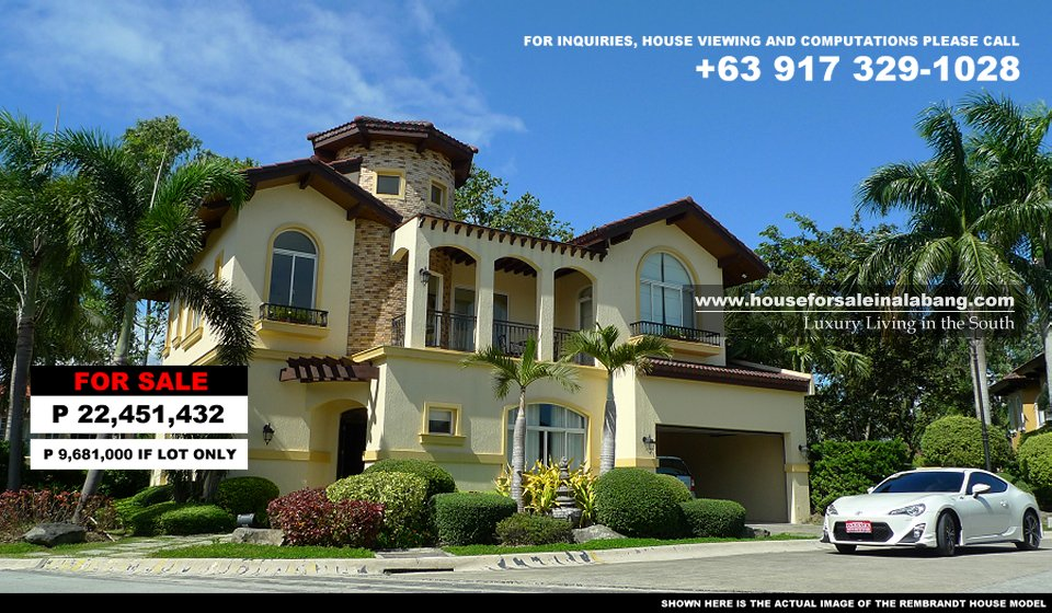 Beautiful House and Lot in Alabang for Sale