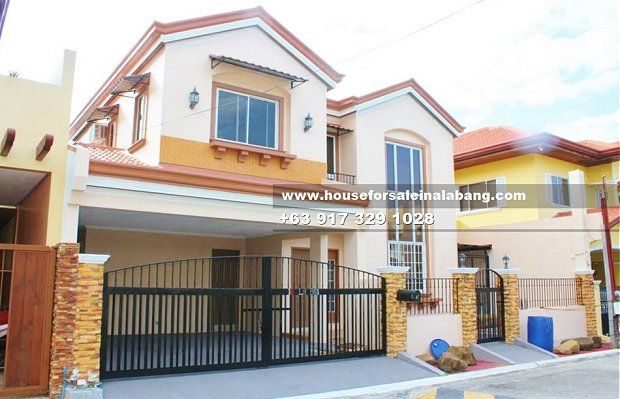 RFO House and Lot for Sale in BF Paranaque Subdivision Philippines