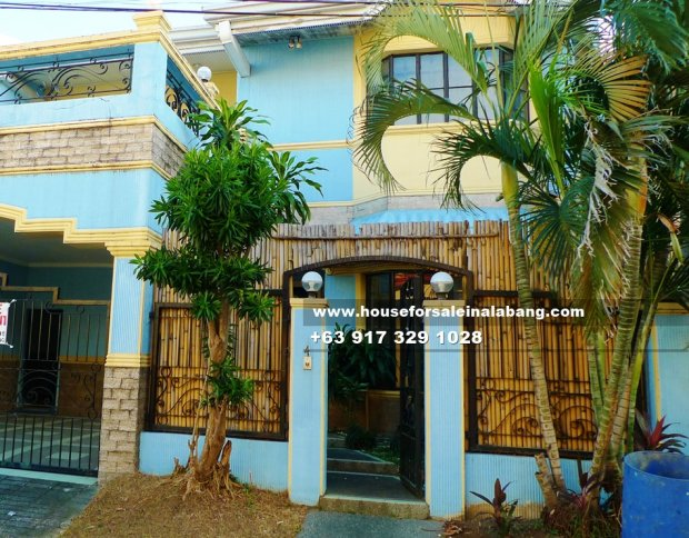 RFO House and Lot for Sale in BF Paranaque City Philippines