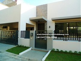 House and Lot for Sale in BF Paranaque Philippines