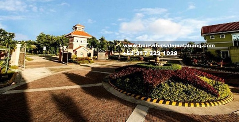 House for Sale in Alabang - Camella Evia Entrance